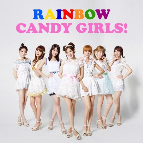 [Single] RAINBOW   Candy Girls! [Japanese]