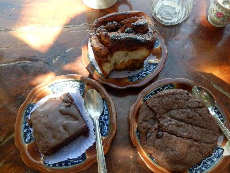 frischer Kuchen...sehr lecker
