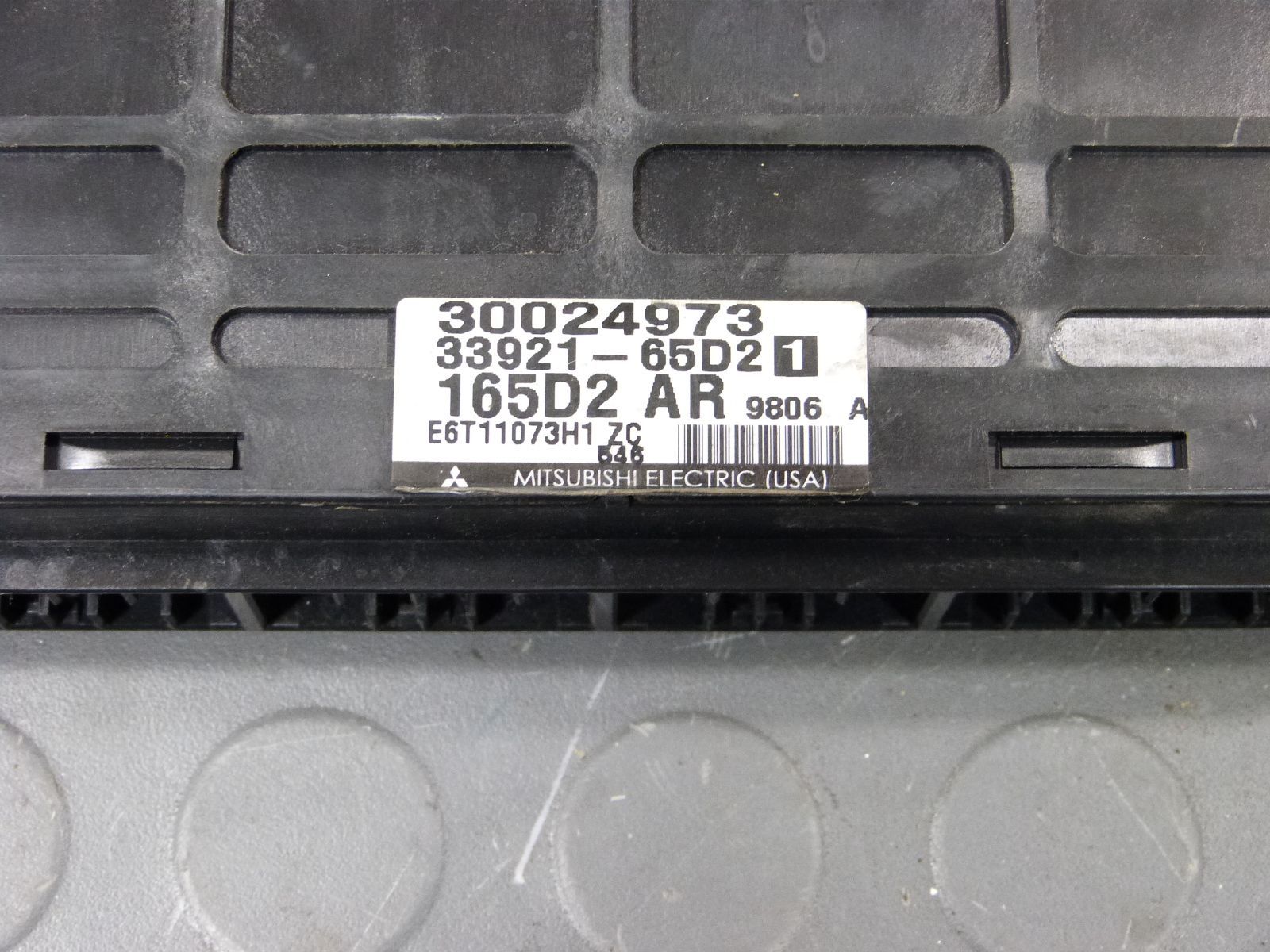 99 Chevy Tracker Suzuki Vitara 2 0L MT ECU Engine Computer 30024973