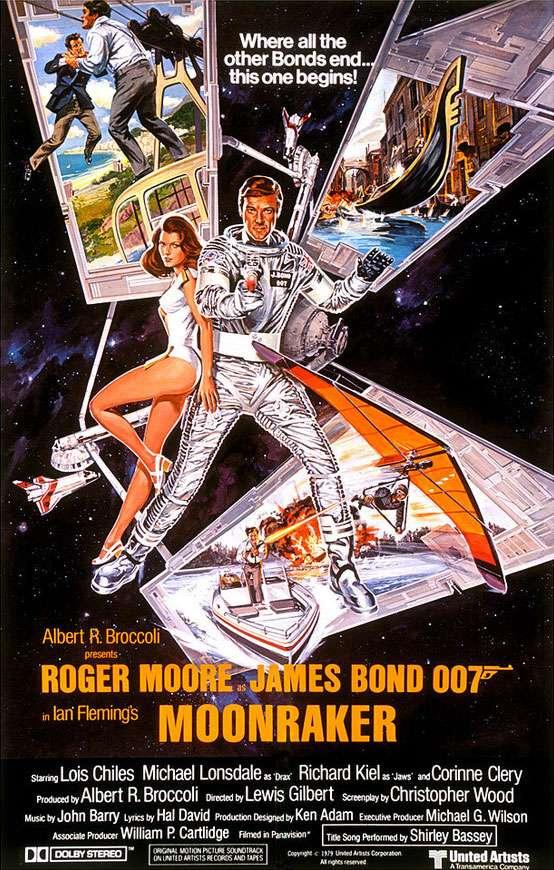 James Bond 007 Moonraker Poster