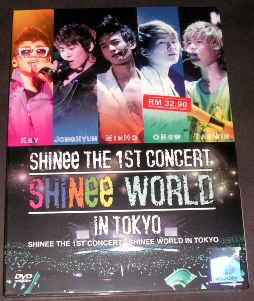THE 1ST CONCERT IN TOKYO 'SHINEE