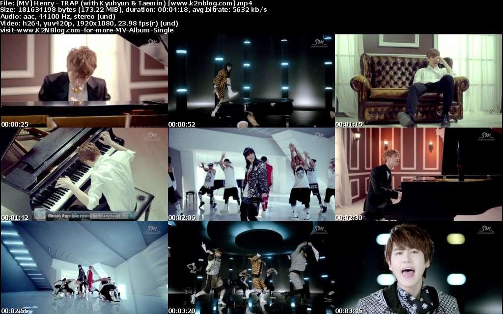 [MV] Henry - TRAP (with Kyuhyun & Taemin) [HD 1080p Youtube]