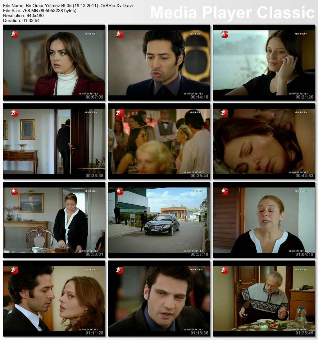 Bir Ömür Yetmez Bölüm 05 DVBRip XviD Tek Link indir