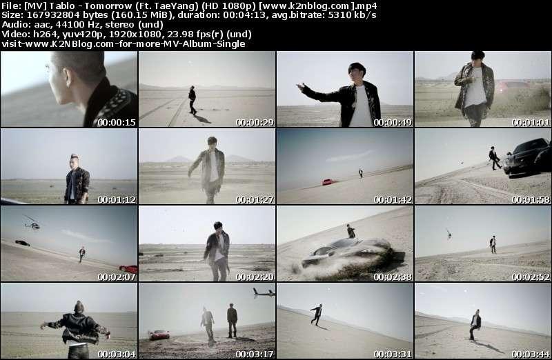 Tablo - Tomorrow (Ft. TaeYang) MV Thumbnail